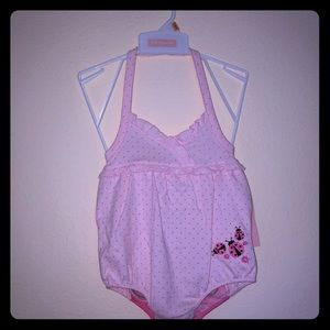 NWT Macy's First Impression Baby Sunsuit 12M